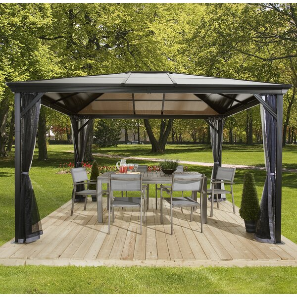 Verona Metal Patio Gazebo by Sojag
