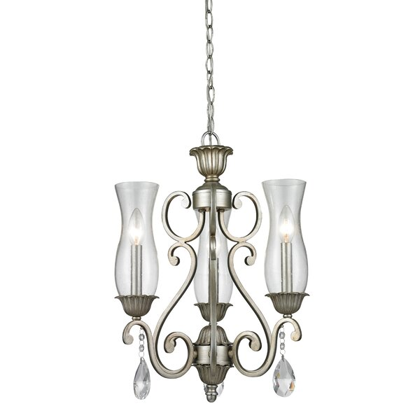 Guernsey 3-Light Shaded Classic / Traditional Chandelier By Alcott Hill