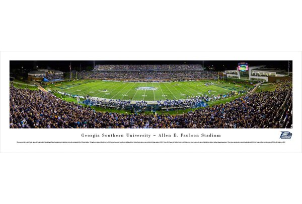 NCAA Georgia Southern University by Sacha Griffin Photographic Print by Blakeway Worldwide Panoramas, Inc