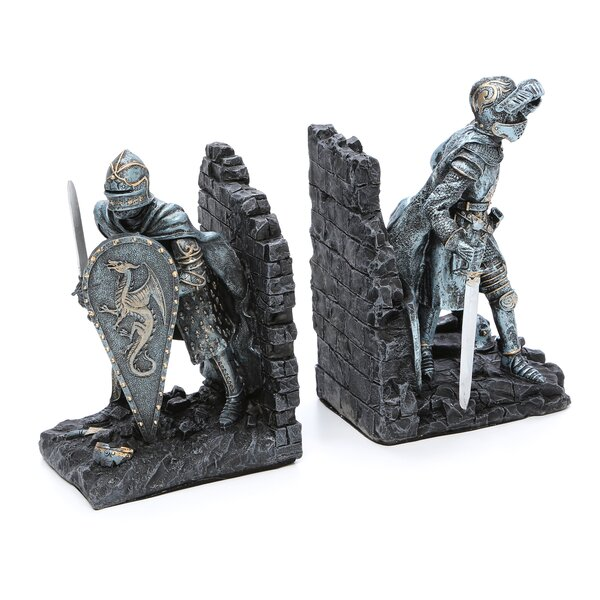 Arthurian Knight Bookends (Set of 2) by Design Toscano