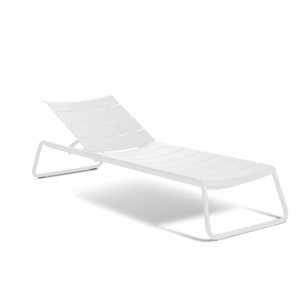 Corail Reclining Chaise Lounge with Cushion by OASIQ OASIQ