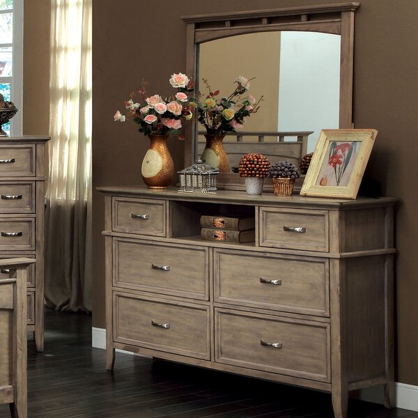 Cartwright Dresser Mirror by Rosecliff Heights