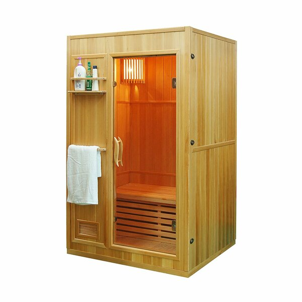 Rejuvenator 2 Person Traditional Steam Sauna by ALEKO