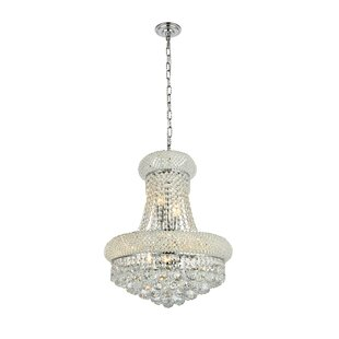 Affordable Jessenia 8-Light Crystal Chandelier By Willa Arlo Interiors
