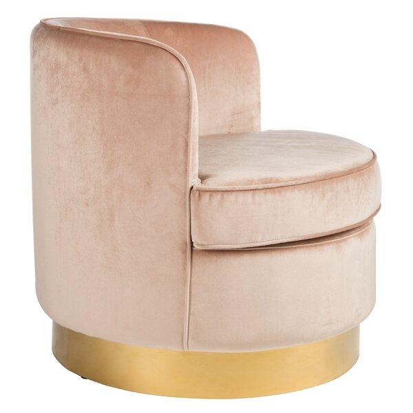 Adcock Barrel Chair By Rosdorf Park