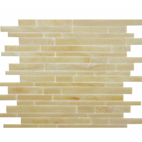 Barstow Random Random Sized Glass Mosaic Tile by Parvatile