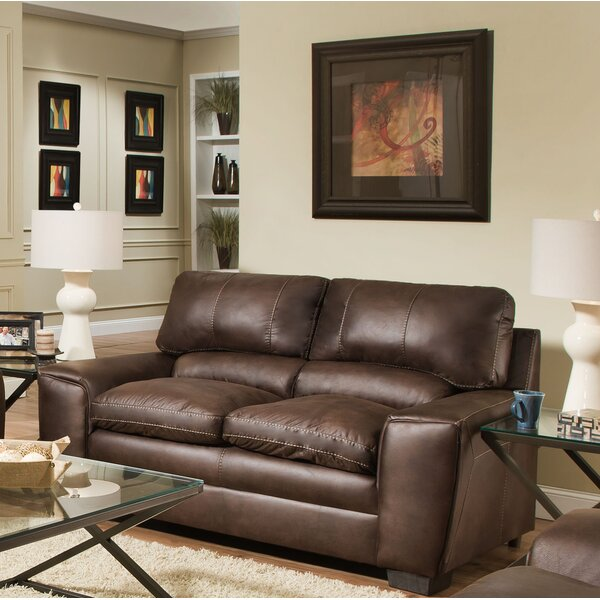 Special Recommended Hepler Loveseat by Alcott Hill by Alcott Hill
