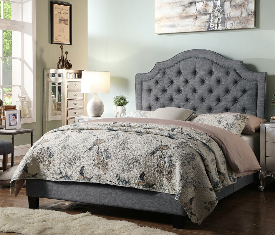 Julia Upholstered Panel Bed