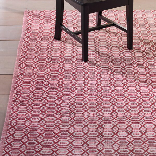 Oxbow Hand-Woven Red Area Rug by Laurel Foundry Modern Farmhouse