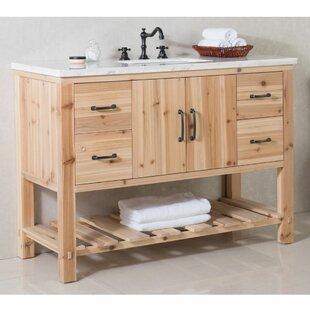 Great Price 48 Single Bathroom Vanity Set ByBellaterra Home