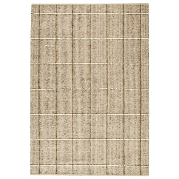 Brooklyn Hand-Woven Beige Area Rug by M.A. Trading