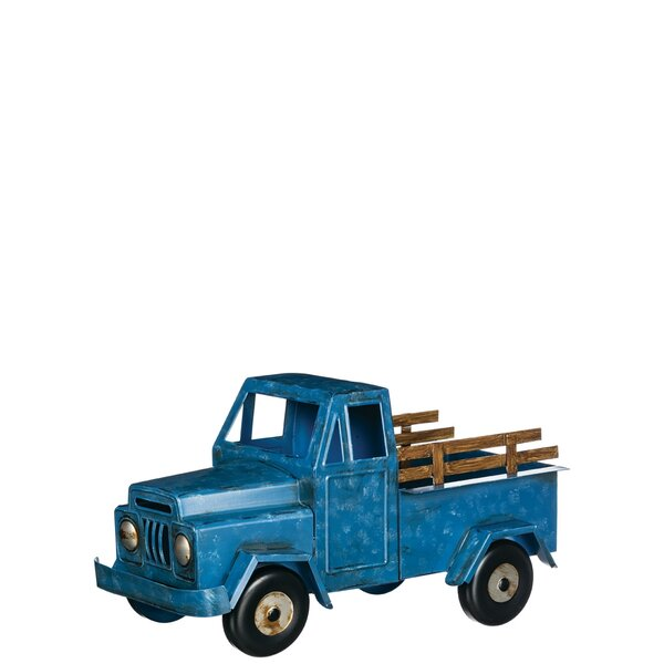 Chason Truck Vehicle Metal Planter Box by August Grove