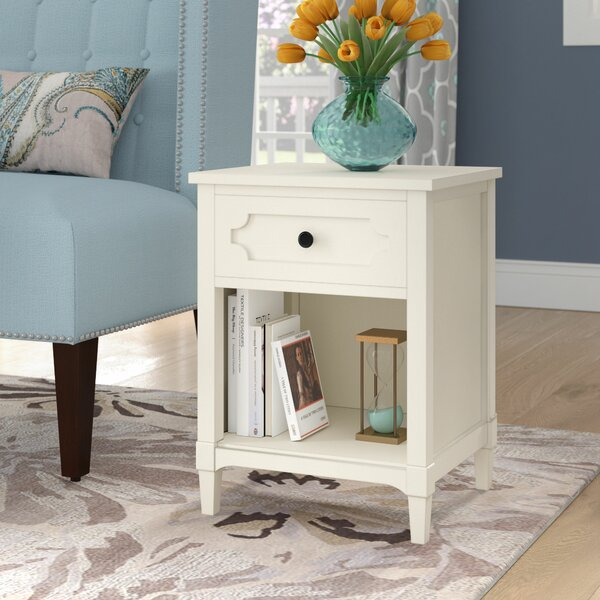 Griffin End Table With Storage By Alcott Hill