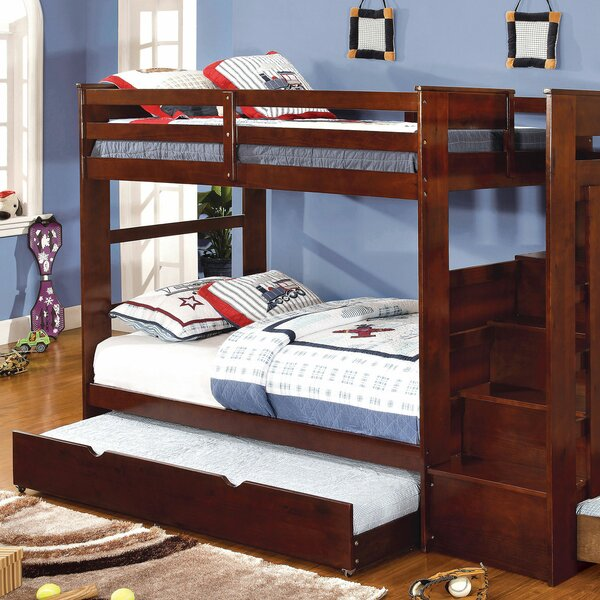 Nevaeh Twin over Twin Bunk Bed by Harriet Bee