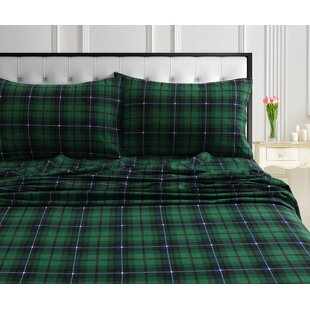Online Reviews Carson Soft and Warm Flannel Sheet Set ByMillwood Pines