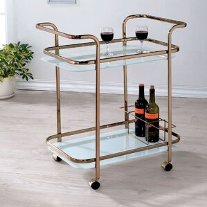 Laoise Bar Cart by Willa Arlo Interiors