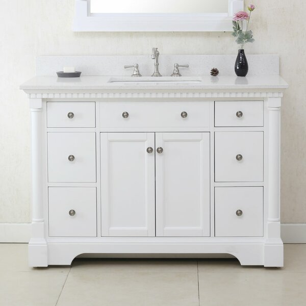 Delight 48 Single Bathroom Vanity Set by Charlton Home