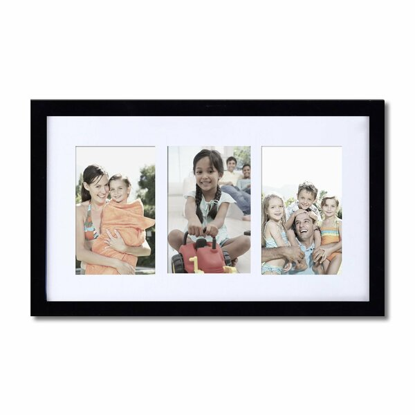 3 Opening Decorative Wall Hanging Picture Frame by Adeco Trading