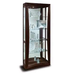 Halo Gemini Lighted Curio Cabinet