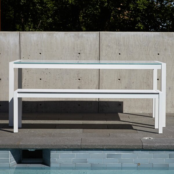 Skiff Outdoor Bench by Blu Dot
