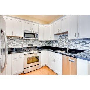 lazy susan 34 5   x 36 shaker kitchen base cabinet 36 inch kitchen base cabinets   wayfair  rh   wayfair com