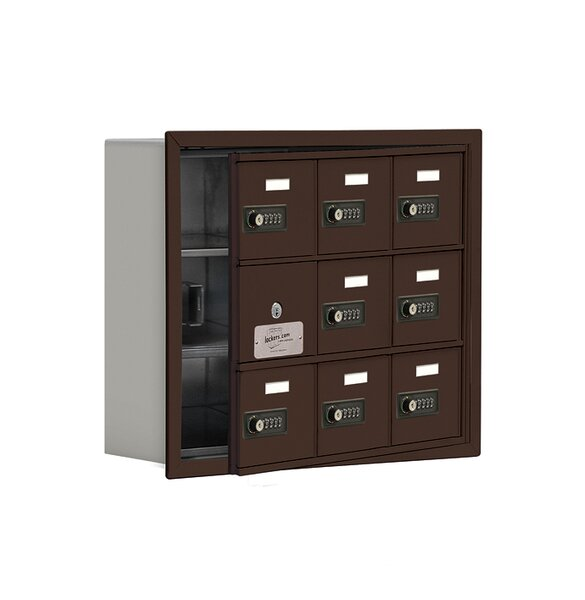 8 Door Cell Phone Locker by Salsbury Industries