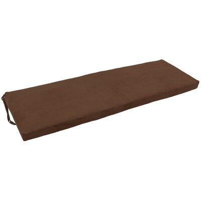 Blazing Needles Micro Suede Indoor Bench Cushion | Wayfair