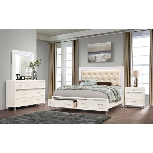 Farrer Platform Configurable Bedroom Set By Everly Quinn by Everly Quinn Read Reviews