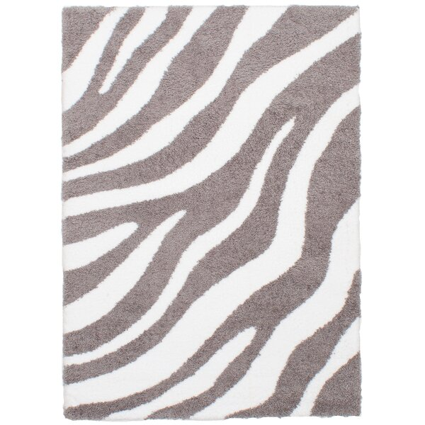 Hester Street Cream/Dark Gray Area Rug by Bloomsbury Market