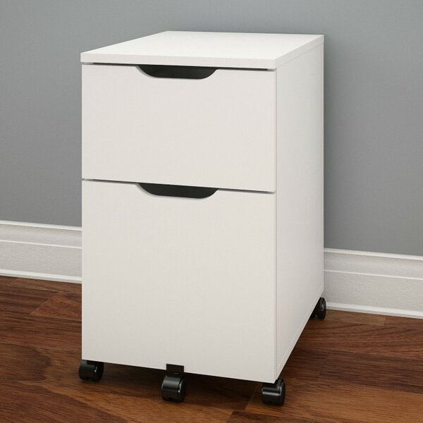 Kurtis 2-Drawer Mobile Vertical File by Latitude Run