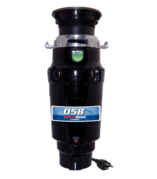 Economy 1/2 HP Continuous Feed Garbage Disposal by Waste Maid