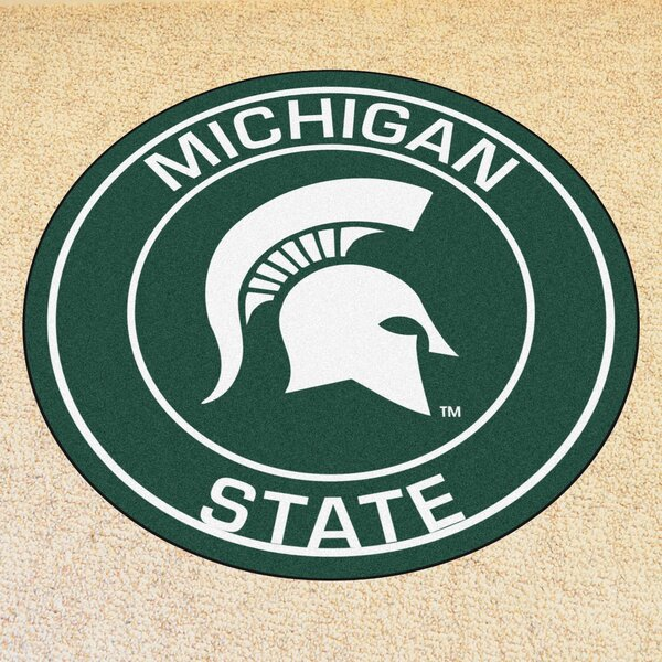 NCAA Michigan State University Roundel Mat by FANMATS
