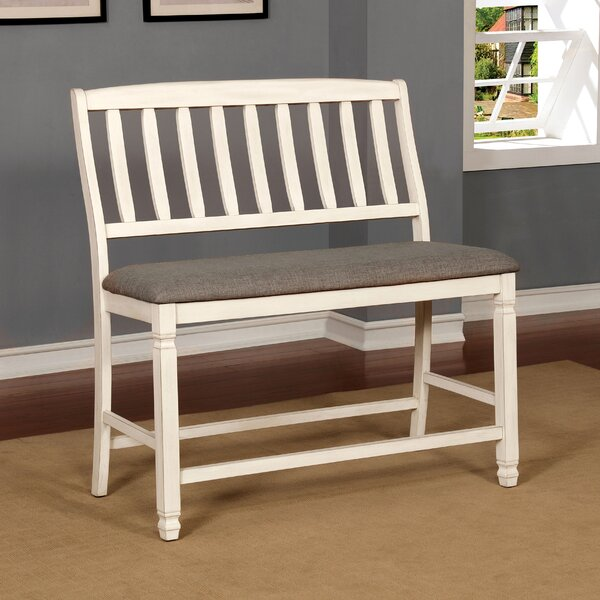 Brynlee Wood Bench by Highland Dunes