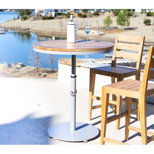 Catalina Teak Bar Table by Beespoke Beespoke