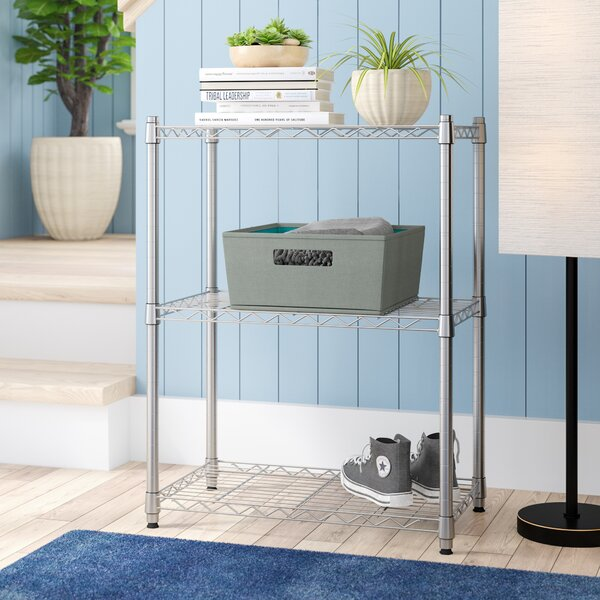 30.5 H Heavy Duty Wire Three Shelve Unit by Rebrilliant