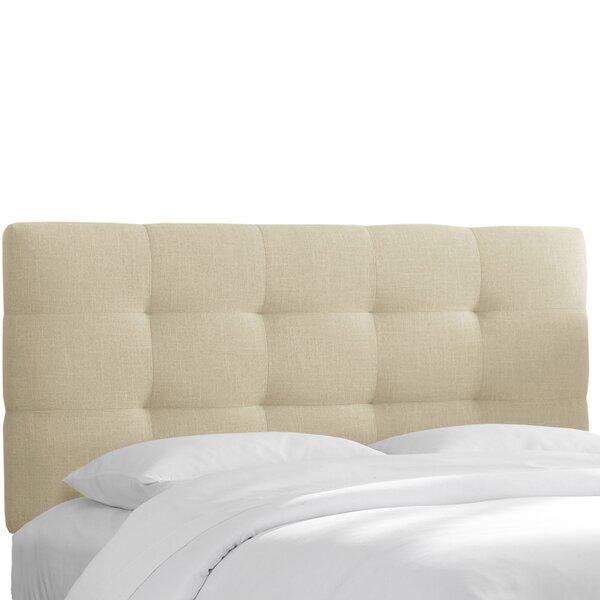Meredith Upholstered Panel Headboard by Wayfair Custom Upholstery™