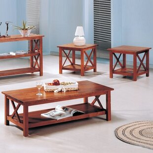 Donny 3 Piece Coffee Table Set by Red Barrel Studio