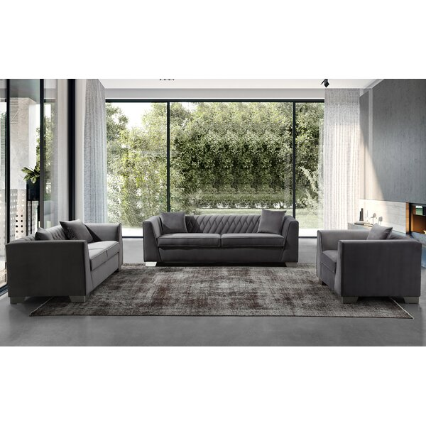 Gagnon Contemporary Configurable Living Room Set by Brayden Studio