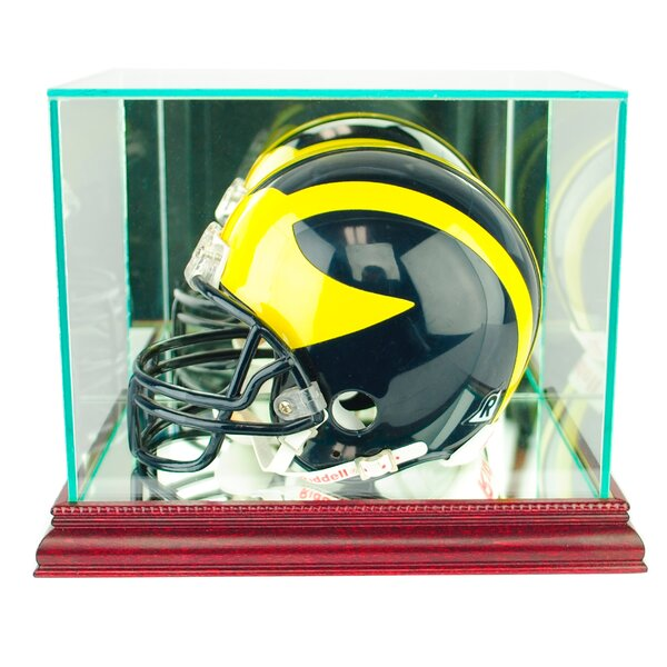 Mini Football Helmet Display Case by Perfect Cases
