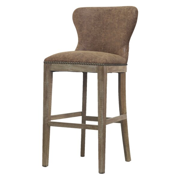Clemons 30 Bar Stool by Gracie Oaks