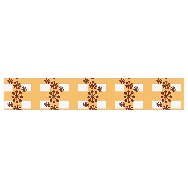 Jane Smith Mushroom Repeat Table Runner by East Urban Home