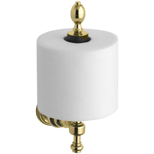 Iv Georges Brass Vertical Toilet Tissue Holder by Kohler