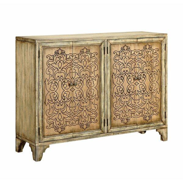 Mirpanah 2-door Cabinet In Tan And Brown by Bloomsbury Market Bloomsbury Market