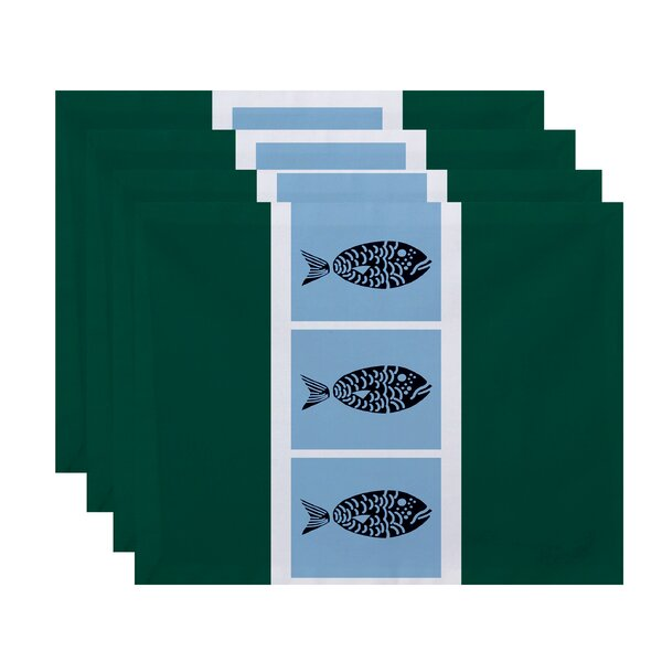 Bartow Fish Chips Placemat (Set of 4) by Breakwater Bay