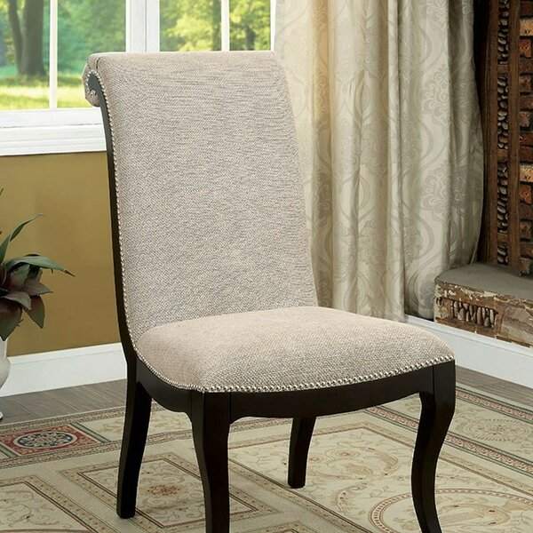 Julie Upholstered Dining Chair (Set of 2) by Rosdorf Park