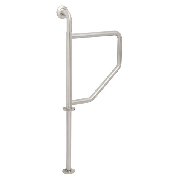 Lifestyle & Wellness Wall-To-Wall Swing Away Grab Bar by Seachrome