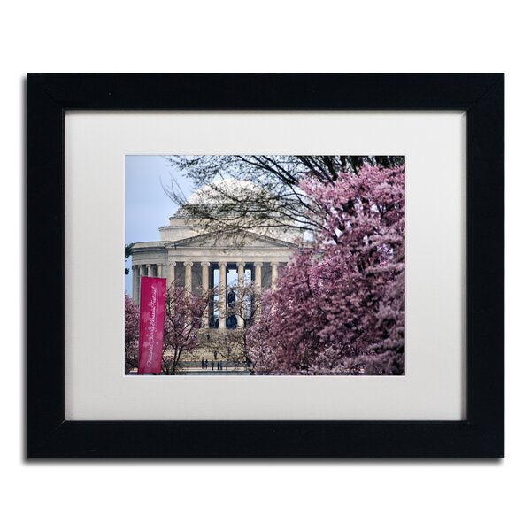 Cherry Blossom Festival by CATeyes Framed Photographic Print by Trademark Fine Art