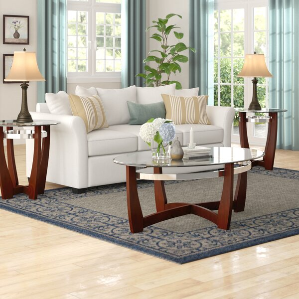 Stoneybrook 3 Piece Coffee Table Set by Andover Mills
