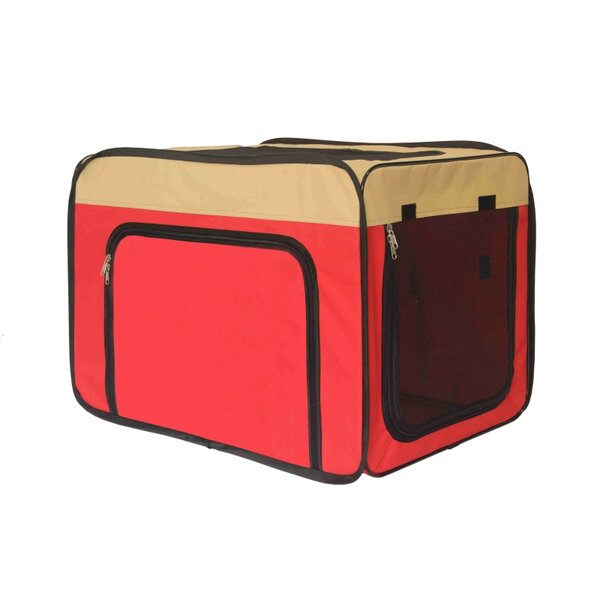 Jodi Medium Heavy Duty Indoor and Outdoor Portable Pop Up Home Shelter Pet Carrier by Tucker Murphy Pet