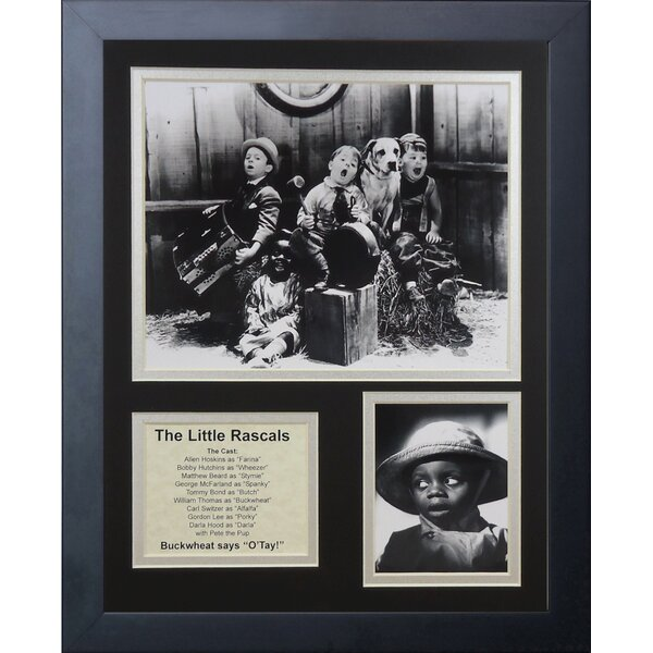The Little Rascals Framed Memorabilia by Legends Never Die